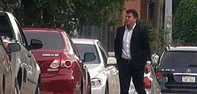 Javier Zacarías Irún se reúne con presidente de Apostala en su casa