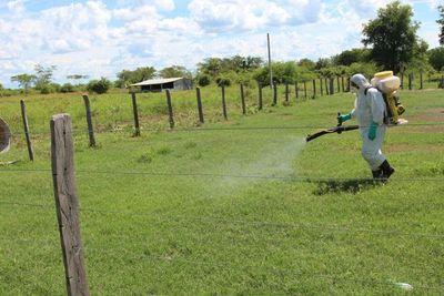 Luego de una pausa continúan las fumigaciones en el Chaco