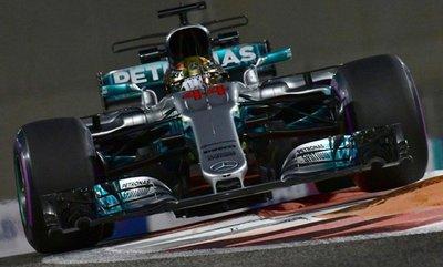 Hamilton marca el ritmo en Abu Dabi