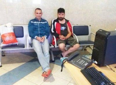 Cayeron el ex administrador y un ex fusilero del EPP
