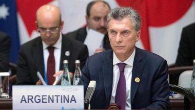 Argentina asume presidencia del G-20 y organiza cumbre de OMC