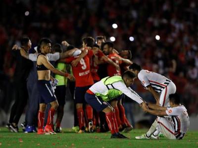 Libertad no puede contra clubes argentinos