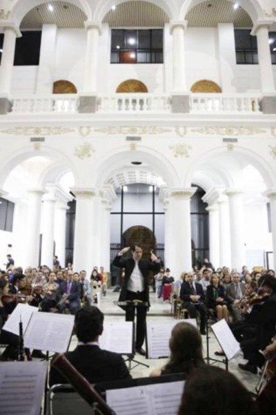 Dos orquestas cierran temporada con folclore y música clásica