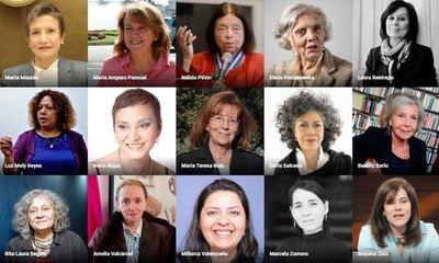 Berta Rojas entre las mujeres intelectuales iberoamericanas más influyentes