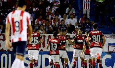 Flamengo elimina a Junior y es finalista de la Sudamericana