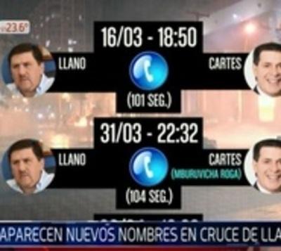 31M: Blas Llano hizo y recibió llamadas desde Mburuvicha Róga