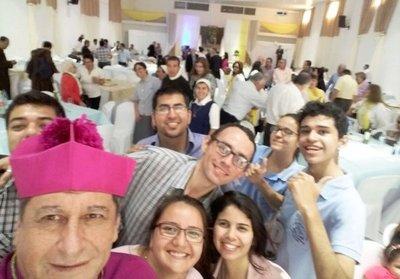 Un clérigo que  rompió moldes desde su llegada a la diócesis