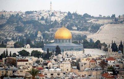 Trump informó a Abbas intención de mudar Embajada de EEUU a Jerusalén