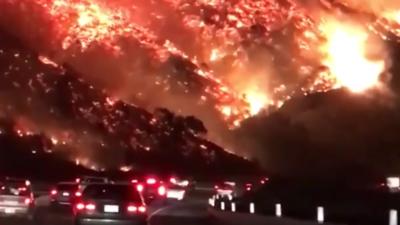 Declaran estado de emergencia en California por incendios