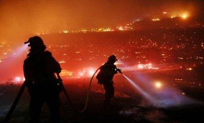Trump declara estado de emergencia en California por causa de incendios
