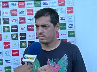 Luis Cáceres sabe de la importancia del partido del viernes