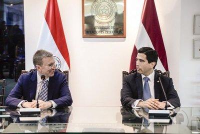Paraguay y Letonia buscan impulsar relaciones