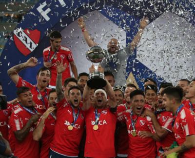 Independiente gana su segunda Sudamericana