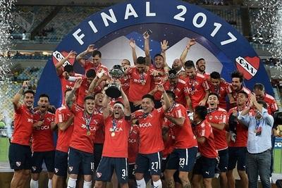 Independiente es campeón de la Sudamericana