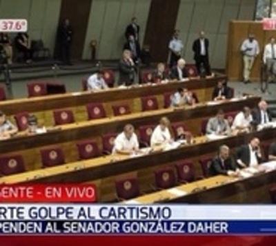 Senado desplaza a González Daher y ubica a Petta en el JEM