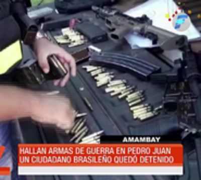 PJC: Encuentran armas de guerra en camioneta abandonada