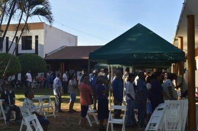 Gran concurrencia en sede municipal de Itauguá