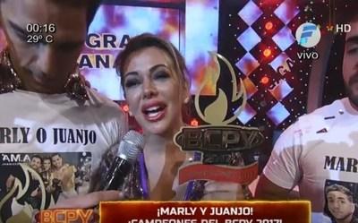 """Marly Figueredo es la nueva campeona de """"Baila Conmigo"""""""