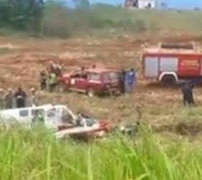 Avioneta se estrella y muere piloto en Encarnación