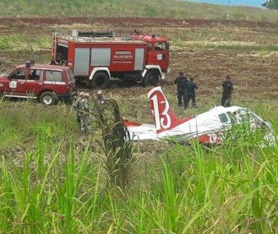 Piloto fallece tras accidente aéreo en Encarnación