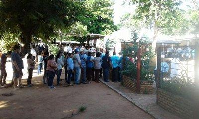 Reportan masiva participación en Horqueta