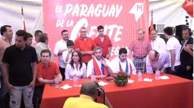 """""""Marito"""" pidió grabar por Wasap el conteo de los votos"""