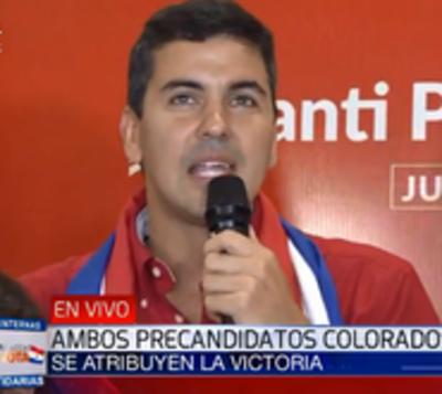 """Peña habla de una """"victoria clara"""" de Honor Colorado"""