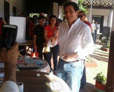 Eligen a Baruja como candidato a gobernador en Paraguarí