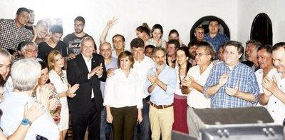 Con apoyo total, Alegre promete justicia social