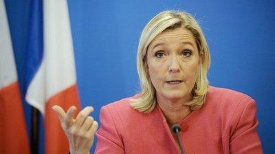 Le Pen está en contra de la UE y su probable negocio con el Mercosur