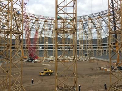 A 6 meses de la Copa del Mundo 6 estadios aún no están listos