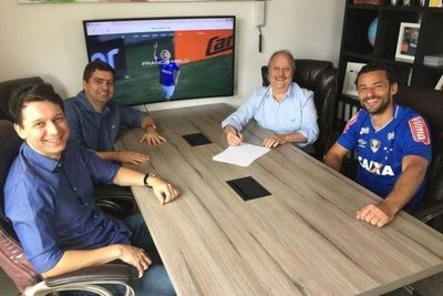 Fred vuelve al Cruzeiro