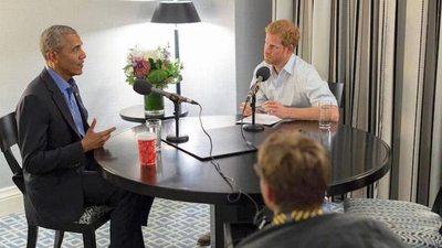 Príncipe entrevista a Obama