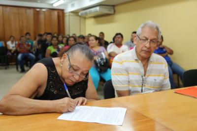 Más de 2.800 familias obtuvieron seguridad jurídica de sus lotes