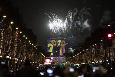 Así recibieron el Año Nuevo alrededor del mundo