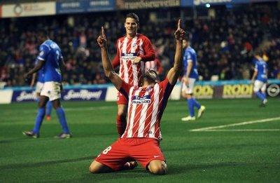 Diego Costa, gol y susto en su regreso