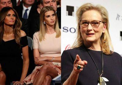 El ataque de Meryl Streep a Melania e Ivanka Trump