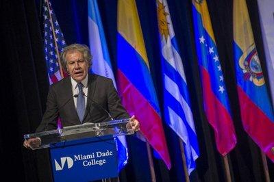 Secretario de la OEA quiere más sanciones para Venezuela
