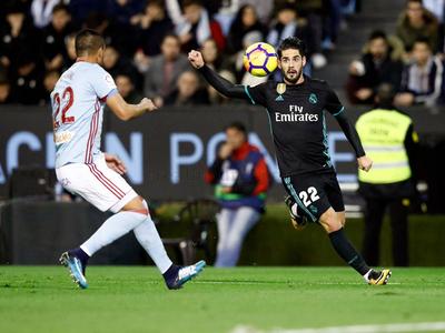 Celta igualó al Madrid y Barcelona se aleja más