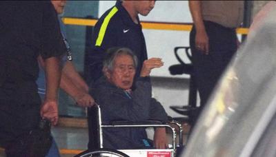 Alberto Fujimori ya hace política tras ser indultado