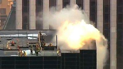 EE.UU.: incendio en la Trump Tower de Nueva York