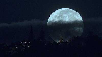 Primer eclipse de superluna azul de sangre en 150 años