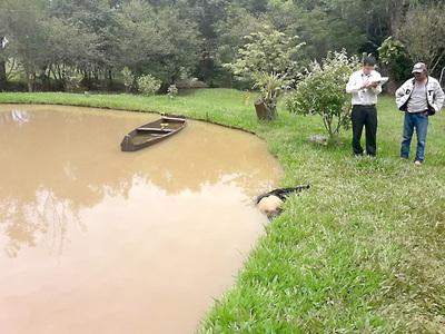 Matan y destripan a brasileño y arrojan su cuerpo a una laguna