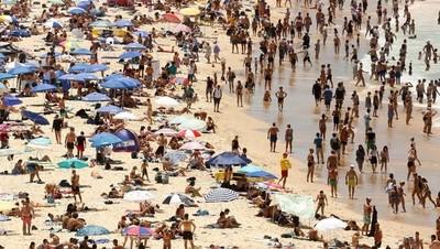 """Mientras Estados Unidos se """"congela"""", en Australia el calor derrite el pavimento"""