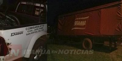 VIOLENTO ASALTO A VENDEDORES EN LA COLONIA APE AIME DE SAN RAFAEL DEL PNÁ.