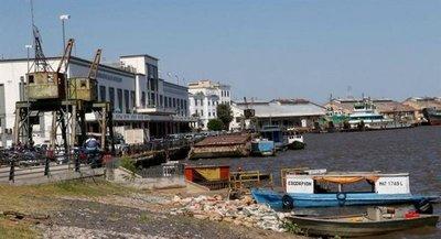 Denuncian demolición de parte de Puerto de Asunción
