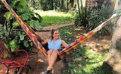 La Actriz Flor Martino Visito Paraguay En Sus Vacaciones