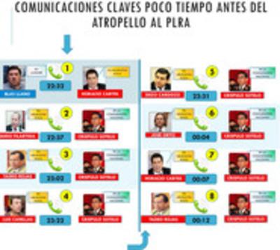 Reconstruirán información del cruce de llamadas para entrega a fiscal