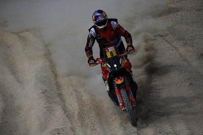 Barreda suma su tercera victoria en motos