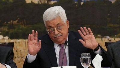 """Presidente palestino califica oferta de paz de Trump de """"bofetada del siglo"""